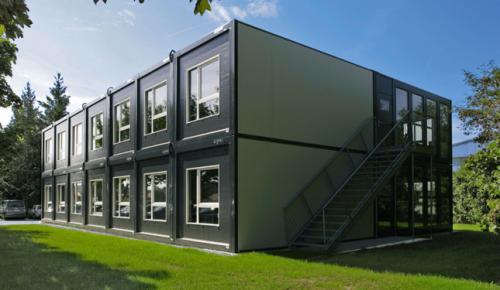 Модульные здания: преимущества и области применения