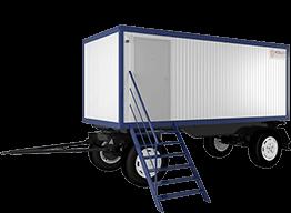 Блок-контейнер на шасси