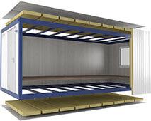 Блок-контейнер сборно-разборный