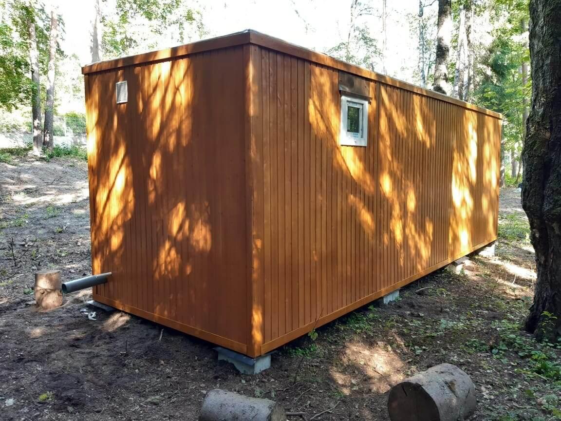 Дачный дом из контейнера
